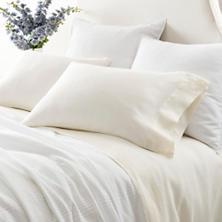 Lush Linen Ivory Sheet Set