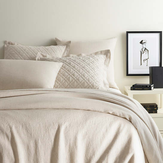 Lush Linen Natural Duvet Cover