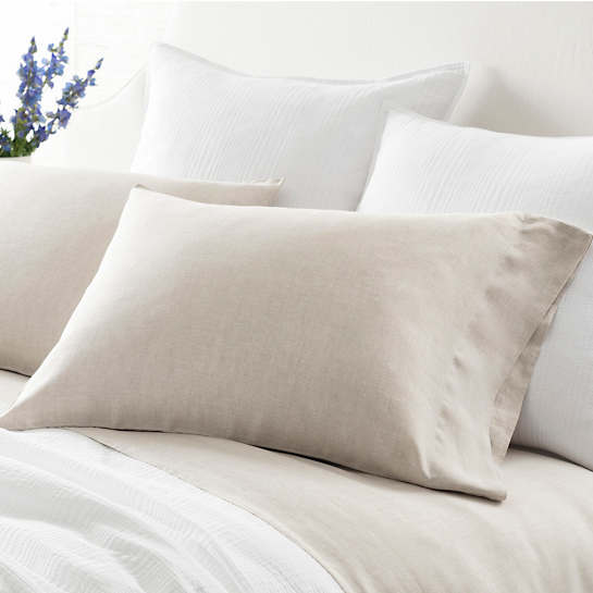 Lush Linen Natural Pillowcases
