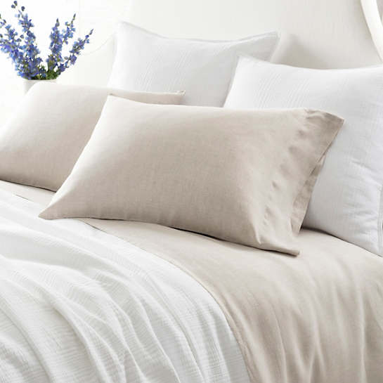 Lush Linen Natural Sheet Set