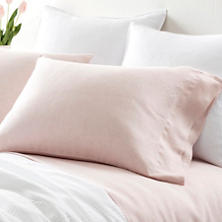 Lush Linen Slipper Pink Pillowcases