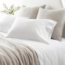 Lush Linen White Sheet Set