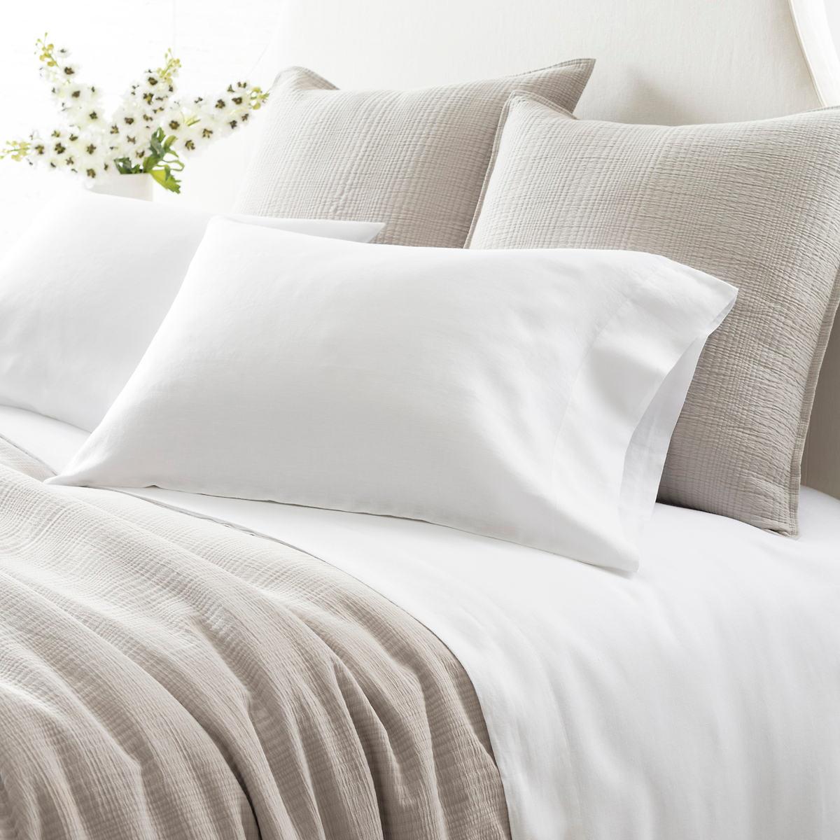 Lush Linen White Sheet Set