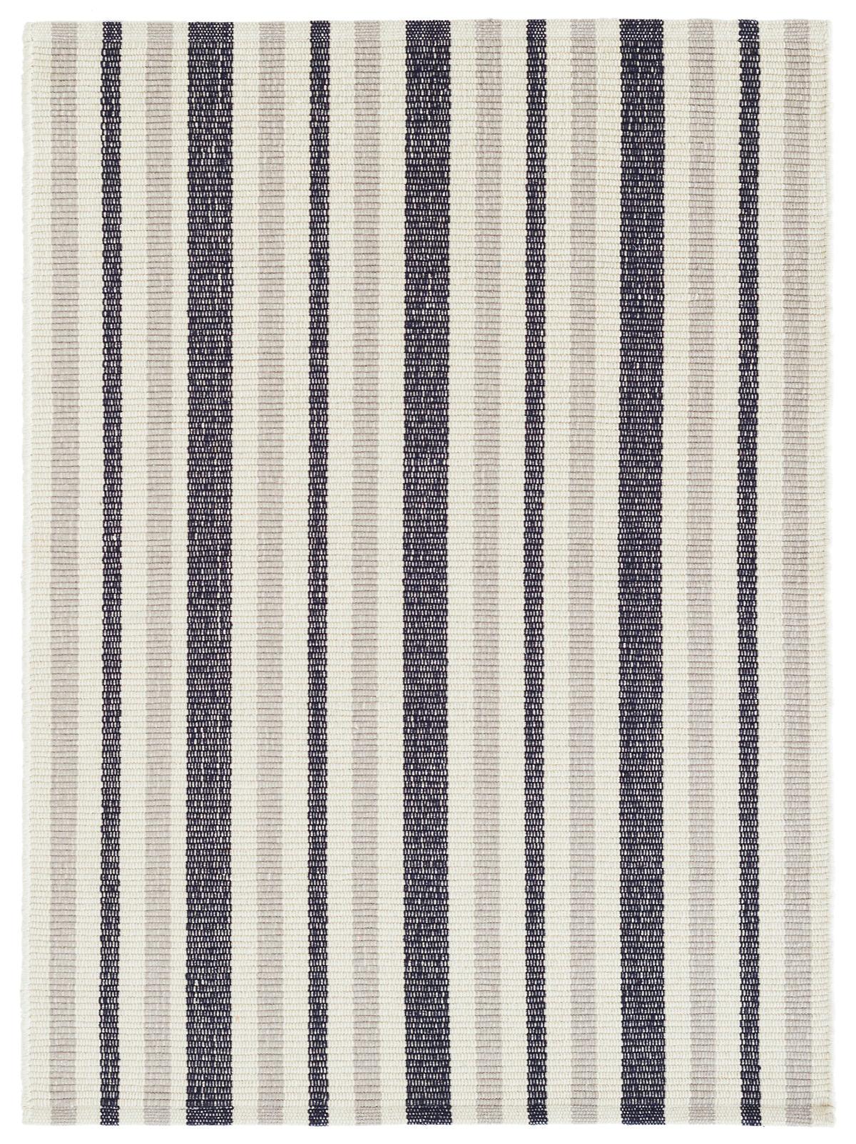 Lyall Stripe Woven Cotton Rug