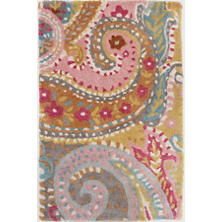 Lyric Paisley Tufted Wool Rug