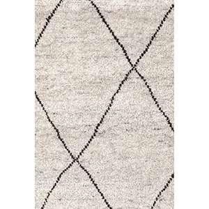 Numa Charcoal Hand Knotted Wool Rug