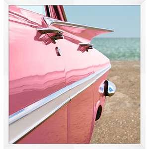 Pink Cadillac 1 Wall Art