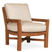 Mahkeenac Outdoor Chair Natural Canvas