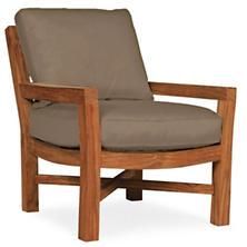 Mahkeenac Outdoor Chair Platinum Canvas
