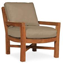 Mahkeenac Outdoor Chair Platinum Heathered