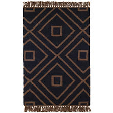 Mali Black Indoor/Outdoor Rug
