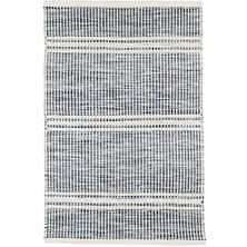 Malta Blue Woven Wool Rug