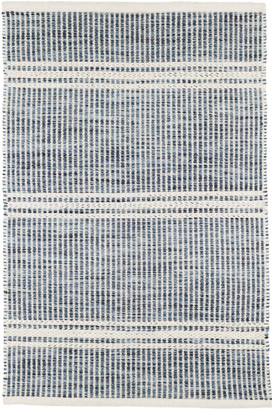 Malta Blue Woven Wool Rug Dash Amp Albert