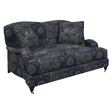 Marianna Linen Litchfield Loveseat
