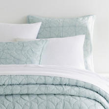 Marina Sky Quilted Sham