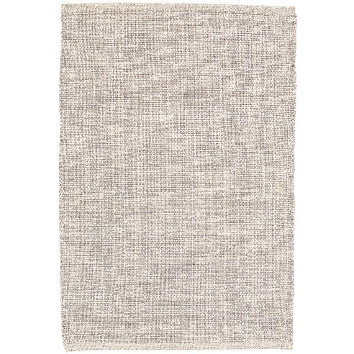 Marled Grey Woven Cotton Rug Dash Amp Albert