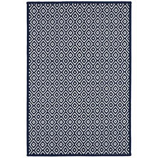 Marshall Navy Indoor/Outdoor Custom Rug