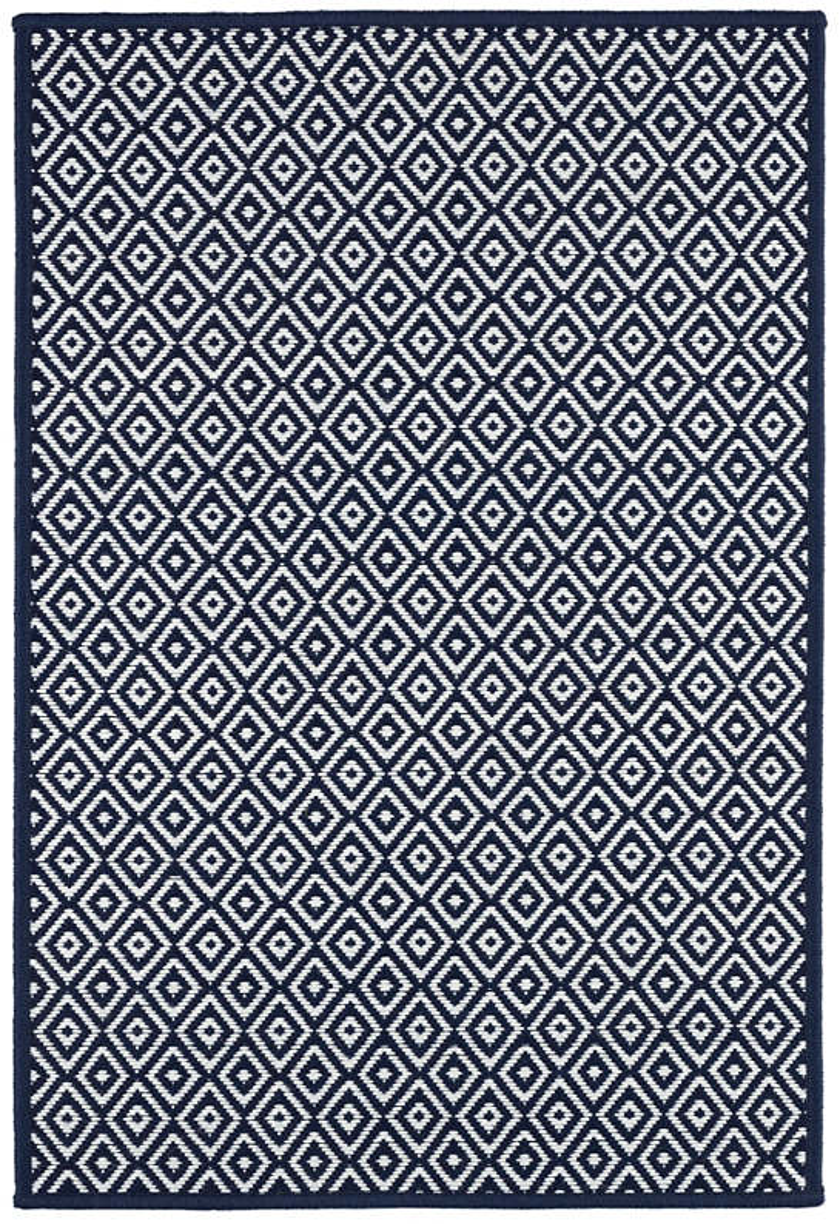 Marshall Navy Indoor/Outdoor Custom Rug