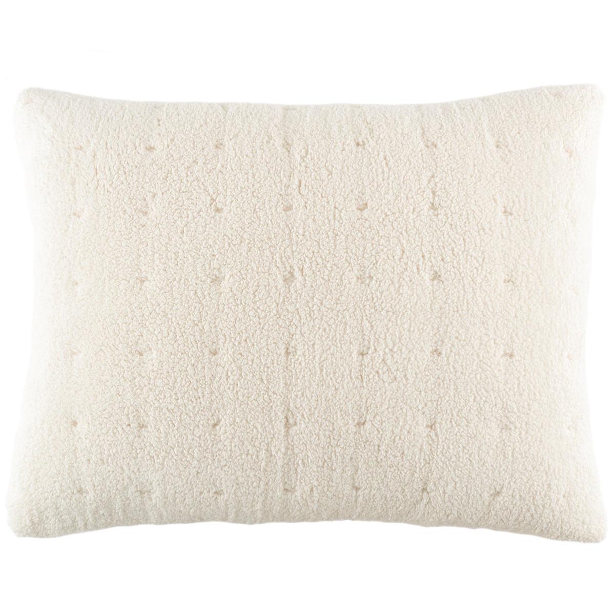 Marshmallow Fleece Ivory Decorative Pillow