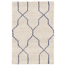 Massena Blue Hand Knotted Rug
