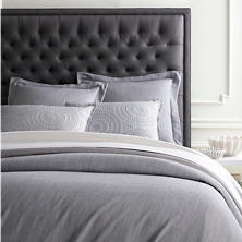 Massimo Silver Heather Duvet Cover
