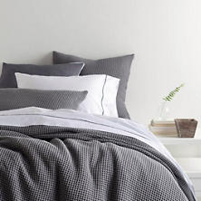 Bubble Grey Matelassé Coverlet