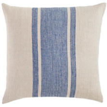 Maxwell Linen Blue Decorative Pillow