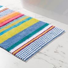 Mellie Stripe Bath Rug