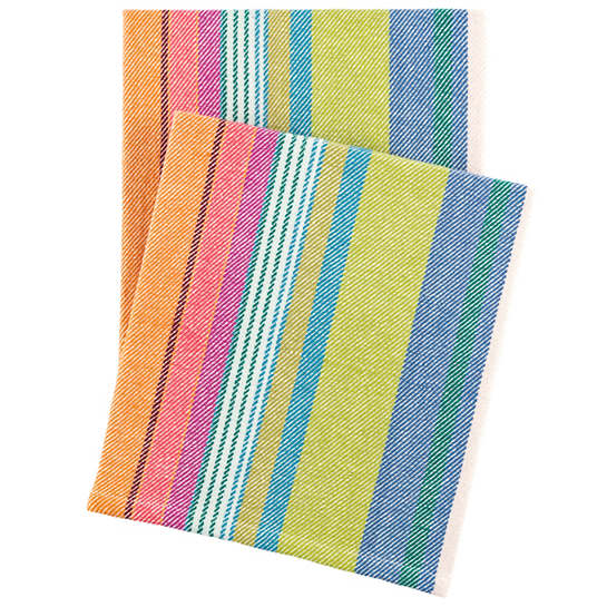 Mellie Stripe Woven Cotton Throw