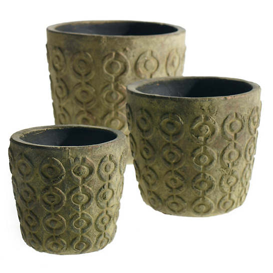 Meso  Pot/Set Of 3