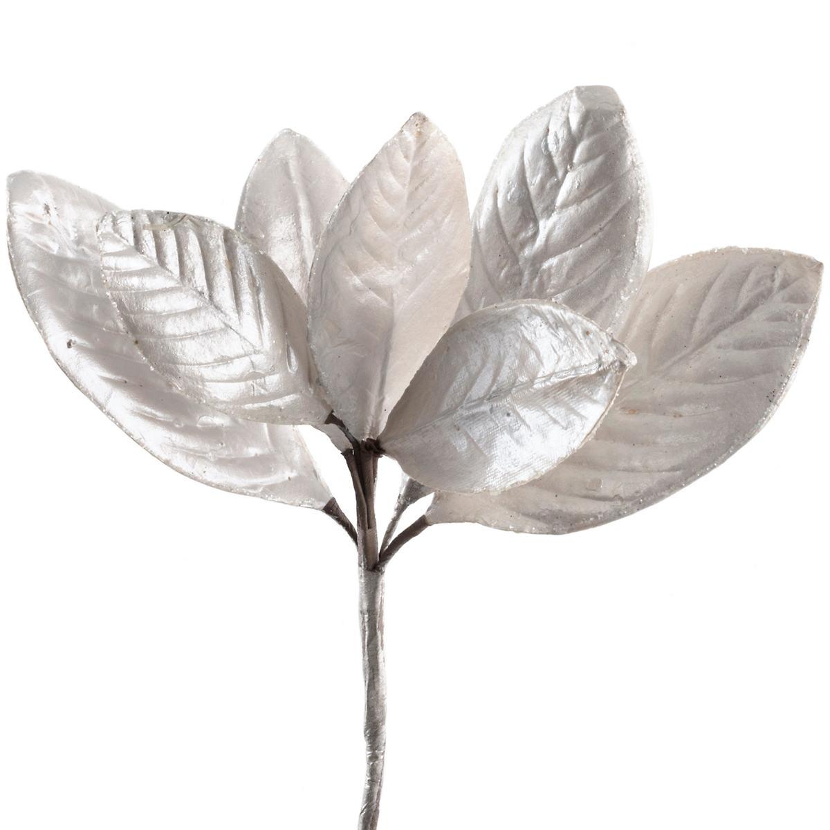 Metallic Magnolia Leaf Pick