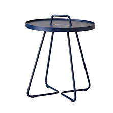 Midnight Dark Blue On The Move Side Table