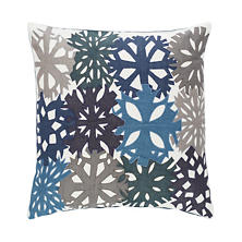 Mineral Applique Decorative Pillow