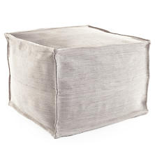 Mingled Indoor/Outdoor Pouf