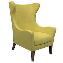 Estate Linen Citrus Mirage Smoke Chair