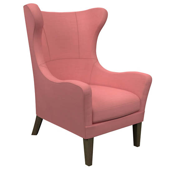 Estate Linen Coral Mirage Smoke Chair