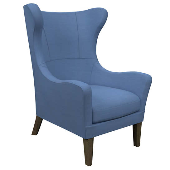 Estate Linen French Blue Mirage Smoke Chair