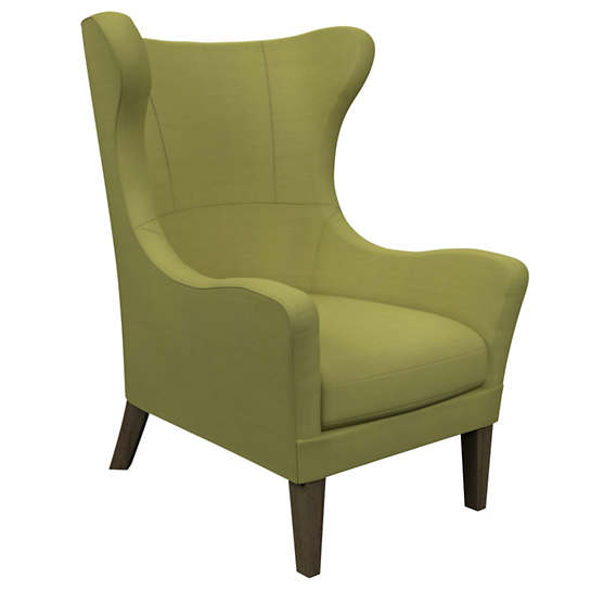 Estate Linen Green Mirage Smoke Chair