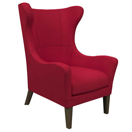 Estate Linen Red Mirage Smoke Chair