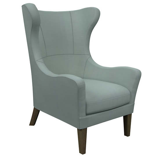Estate Linen Sky Mirage Smoke Chair
