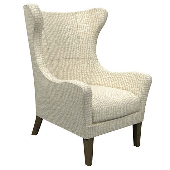 Pebble Ivory Mirage Smoke Chair