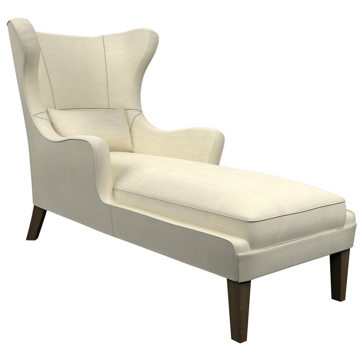 Estate Linen Ivory Mirage Smoke Chaise