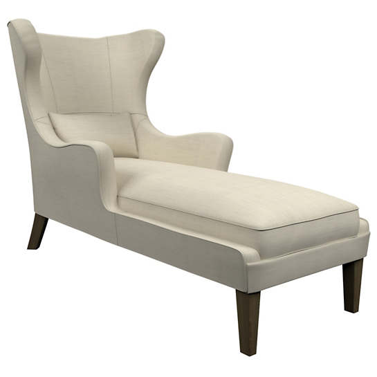 Estate Linen Pearl Grey Mirage Smoke Chaise