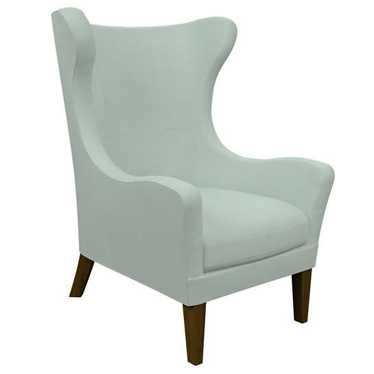 Estate Linen Powder Blue Mirage Smoke Chair