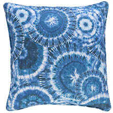 Mirago Blue Indoor/Outdoor Decorative Pillow