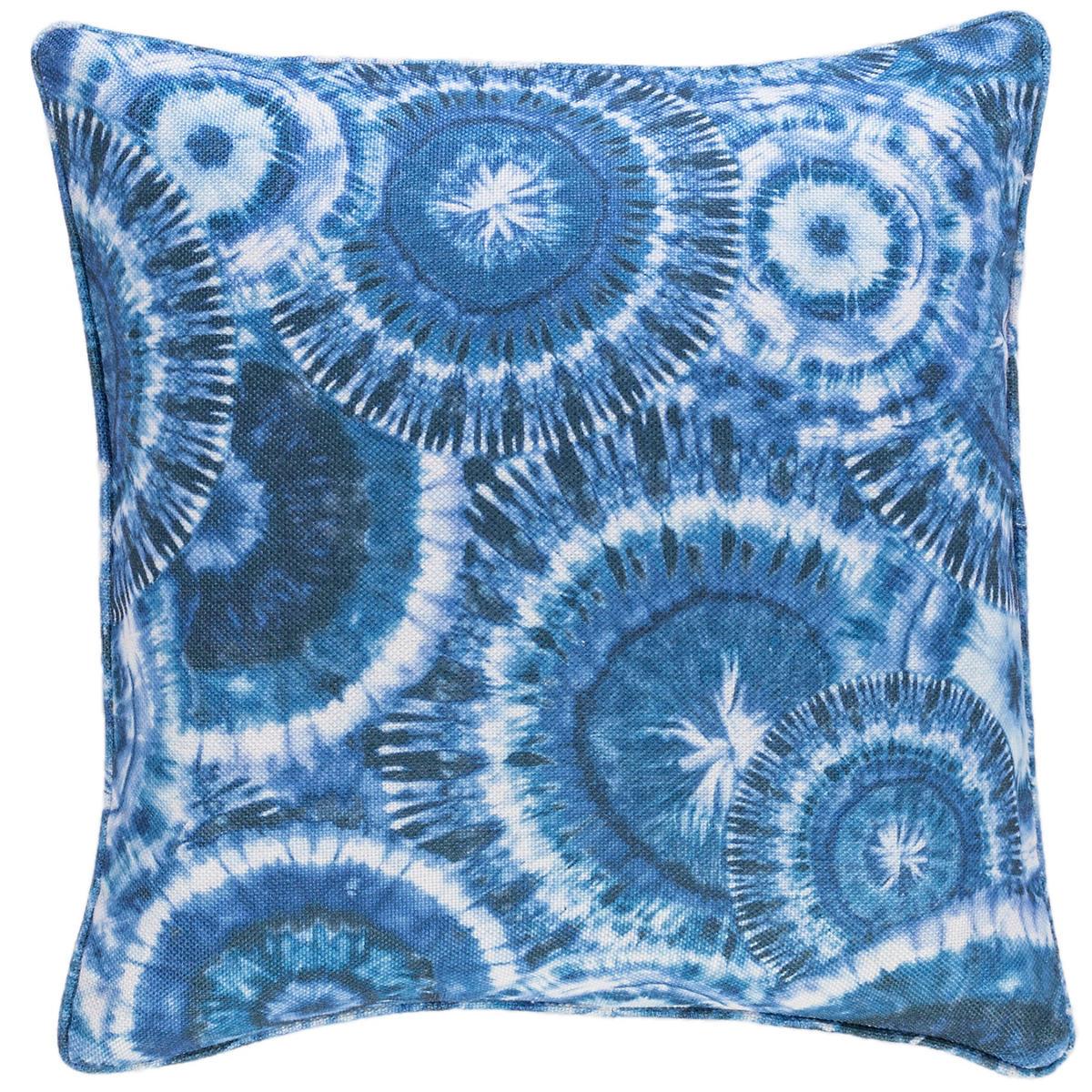 Mirago Blue Indoor/Outdoor Decorative Pillow