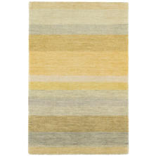 Monaco Stripe Hand Knotted Wool Rug