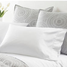 Monarch Sateen White Pillowcases