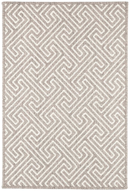 Montage Charcoal Woven Wool Rug