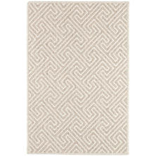 Montage Dove Grey Woven Wool Rug